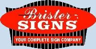 Brister Signs Logo